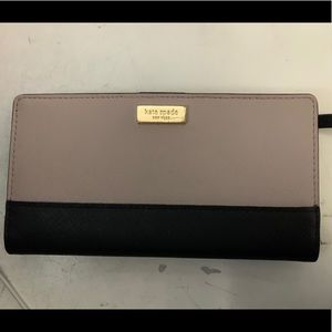 Kate Spade Two Tone Stacy Laurel Way Wallet